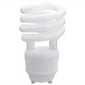 Sunlite® 00791-SU SL18/GU24/50K 18W GU24 Spiral CFL Light Bulb, GU24 Base, Super White