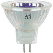 Sunlite 03190-SU 35MR11/GU4/NFL/12V 35W MR11 Mini Reflector Halogen Bulb, GU4 Base - Pkg Qty 24