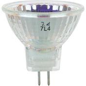Sunlite 03190-SU 35MR11/GU4/NFL/12V 35W MR11 Mini Reflector Halogen Bulb, GU4 Base - Pkg Qty 24