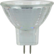 Sunlite 03460-SU 10MR11/CG/GU4/NFL/12V 10W MR11 Mini Reflector Halogen Bulb, GU4 Base - Pkg Qty 24