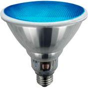Sunlite® 05362-SU SL23PAR38/B 23W Blue PAR38 Reflector CFL Light Bulb, Med Base, Qty- 12