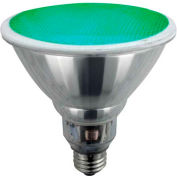 Sunlite® 05367-SU SL23PAR38/G 23W Colored PAR38 Reflector CFL Light Bulb, Medium Base, Green - Pkg Qty 12