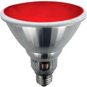 Sunlite® 05372-SU SL23PAR38/R 23W Red PAR38 Reflector CFL Light Bulb, Med Base, Qty- 12