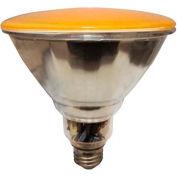 Sunlite® 05377-SU SL23PAR38/Y 23W Yellow PAR38 Reflector CFL Light Bulb, Med Base, Qty- 12