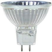 Sunlite 66125-SU 50MR16/CG/GY8/FL/120V 50W MR16 Mini Reflector Halogen Bulb, GY8 Base - Pkg Qty 12
