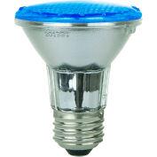 Sunlite 80001-SU PAR20/LED/3W/B 6W PAR20 Colored Reflector, Medium Base Bulb, Blue - Pkg Qty 12