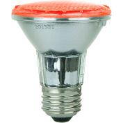 Sunlite 80003-SU PAR20/LED/2W/R 2W PAR20 Colored Reflector, Medium Base Bulb, Red - Pkg Qty 12