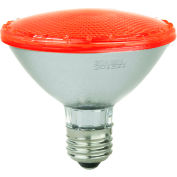 Sunlite 80023-SU PAR30/LED/3W/R 3W PAR30 Colored Reflector, Medium Base Bulb, Red - Pkg Qty 12