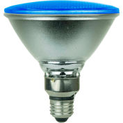 Sunlite 80041-SU PAR38/LED/6W/B 6W PAR38 Colored Reflector, Medium Base Bulb, Blue - Pkg Qty 6