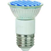 Sunlite 80195-SU JDR/LED/2.8W/B 2.8W MR16 Colored Mini Reflector, Medium Base Bulb, Blue - Pkg Qty 12