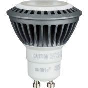 Sunlite 80280-SU MR16/LED7W/FL35/GU10/DIM/27K 7W MR16 Mini Reflector, GU10 Base, Warm White - Pkg Qty 12
