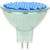 Sunlite 80305-SU MR16/LED/2W/GU5.3/12V/B 2W MR16 Colored Mini Reflector, GU5.3 Base Bulb, Blue - Pkg Qty 12