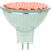 Sunlite 80309-SU MR16/LED/2W/GU5.3/12V/R 2W MR16 Colored Mini Reflector, GU5.3 Base Bulb, Red - Pkg Qty 12