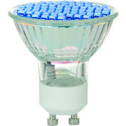 Sunlite 80326-SU MR16/LED/2.8W/GU10/B 2.8W MR16 Colored Mini Reflector, GU10 Base Bulb, Blue - Pkg Qty 12