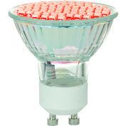 Sunlite 80328-SU MR16/LED/2.8W/GU10/R 2.8W MR16 Colored Mini Reflector, GU10 Base Bulb, Red - Pkg Qty 12