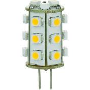 Sunlite 80800-SU GU4/LED/1W/GU4/12V/WW 1W Single Ended GU4 Bi-Pin, GU4 Base Bulb, Warm White - Pkg Qty 10
