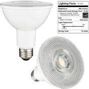 Sunlite 89005-SU PAR30/LED/14W/D/E/30K 14W PAR30 High Reflector, Medium Base Bulb, Warm White - Pkg Qty 6