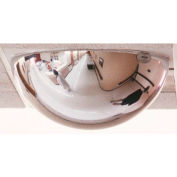 "See All® 360-Degree Full Dome T-Bar Mirror, 24"" Diameter, 2' x 4' Drop-In Panel - PVT-BAR2X4"