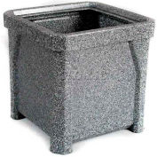 "16"" Outdoor Planter - Gray Granite"