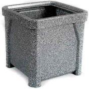 "24"" Outdoor Planter - Gray Granite"