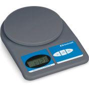 Brecknell 311 Office Digital Scale 11lb x 0.1 oz 5-7/8 Diameter Platform