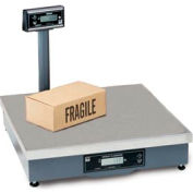 """Brecknell 7829 Shipping Digital Scale With Ball Top 250lb x 0.05lb 20"""" x 20"""" x 5-5/16"""""""