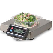 "Brecknell 6115 Touchless Zero Portion Digital Scale 25lb x 0.01lb13-7/16"" x 13-7/16"" x 2-1/2"""