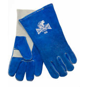 Stanco Welding Glove, Blue/White, L, 2010