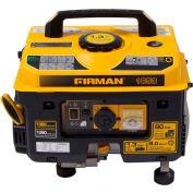 Firman 1300/1050 Watt Performance Series Portable Generator, Gas, Recoil Start, 120 V - P01001