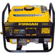 Firman 1500/1200 Watt Performance Series Portable Generator, Gas, Recoil Start, 120V - P01201