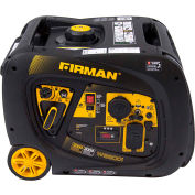 Firman 3300/3000 Watt Whisper Series Inverter Generator, Gas, Electric Start Start, 120V - W03082