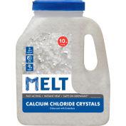 MELT 10 Lb. Jug Calcium Chloride Crystals Ice Melt - MELT10CC-J