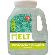 MELT 10 Lb. Premium Enviro Blend Ice Melter w/CMA 200 Jugs/Pallet MELT10EB-PLT