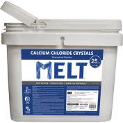 MELT 25 Lb. Bucket Calcium Chloride Crystals Ice Melter - MELT25CC-BKT