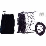 "Snap-Loc SLAMCN6072 Military Cargo Net 60""x72"" With Cinch Rope, 6 Snap-Hook Carabiner & Storage Bag"