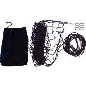 "Snap-Loc SLAMCN6096 Military Cargo Net 60""x96"" With Cinch Rope, 6 Snap-Hook Carabiner & Storage Bag"