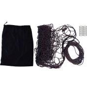 """Snap-Loc SLAMCN96144 Military Cargo Net 96""""x144"""", Cinch Rope, 10 Snap-Hook Carabiner & Storage Bag"""