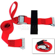 "Snap-Loc® SLTE208CR E-Strap 2""X8' Cam Red With Hook & Loop Storage Fastener"