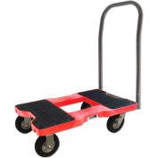 "Snap-Loc™ Air-Ride Push Cart Dolly  SL1500P6AR - 6"" Casters - 1500 Lb. Cap. - Red"