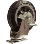 "Snap-Loc™ Caster for Snap-Loc Dolly SLAC6SB - All-Terrain Swivel Brake 6"" Casters"