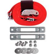 "Snap-Loc™ Cart Strap Anchor Kit SLCCSAKWC with 2""x16' Cam for Platform Trucks"