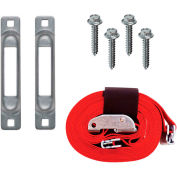"""Snap-Loc™ Dolly Strap Anchor Kit SLCDSAKWCI  with 2""""x16' Cam for Wood Dollies"""