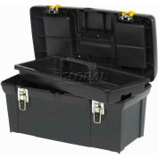 """Stanley 024013S 024013s, 24"""" Series 2000 Tool Box With Tray - Pkg Qty 2"""