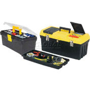 "Stanley 060752C 19"" Tool Box with 12-1/2"" Tool Box"