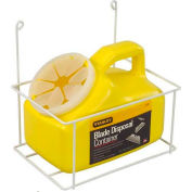 Stanley 11-081 Blade Disposal Container W/ Wire Rack