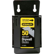 Stanley 11-937L Drywall ASB Utility Blades with Dispenser, 50 Pack - Pkg Qty 6