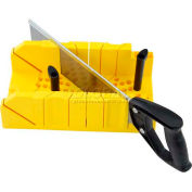 Stanley 20-600 Clamping Miter Box with Saw 12""