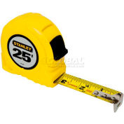 "Stanley 30-455 1"" x 25' High-Vis High Impact ABS Case Tape Rule"