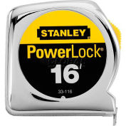 """Stanley® 33-116, PowerLock® Tape Rule 3/4"""" x 16'"""