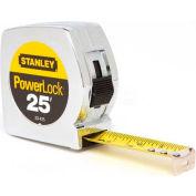"Stanley® 33-425, PowerLock® Classic Tape Measure 1"" x 25'"